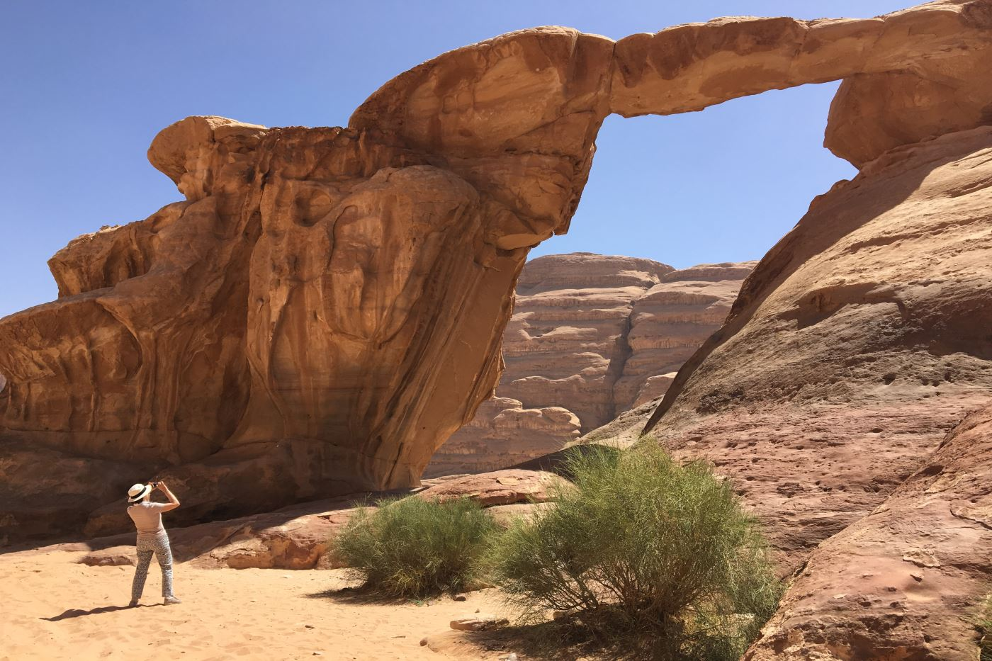 Wadirum desierto viaje a medida a Jordania